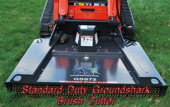 Bradco 60 Inch Standard Flow & Duty Ground Shark Brush Cutter